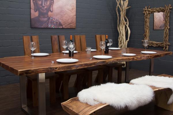 2 tischbeine edelstahl matt u form nur f r unsere. Black Bedroom Furniture Sets. Home Design Ideas