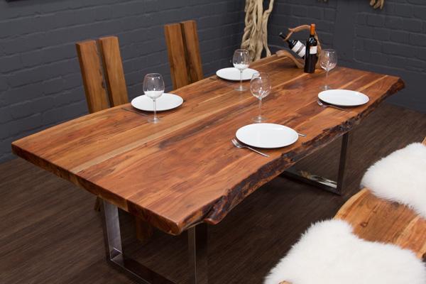 2 tischbeine edelstahl glanz u form nur f r unsere. Black Bedroom Furniture Sets. Home Design Ideas