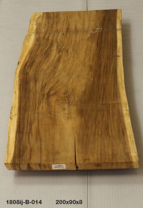 Esstisch Baumstamm Tischplatte Aus Suar Massivholz Unbehandelt Nr 19913