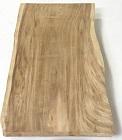 Tischplatte mit Baumkante aus Suar Massivholz - UNBEHANDELT - Nr. 17641